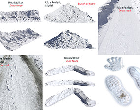 Snow collection 3D