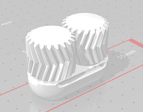 Antikythera Mechanism helical 3D printable model 4