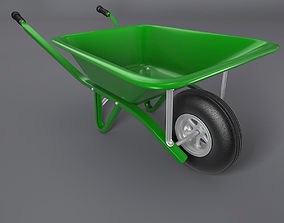 Wheelbarrow wheelbarrow 3D model