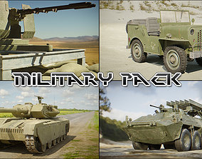 3D asset Military Pack for Games