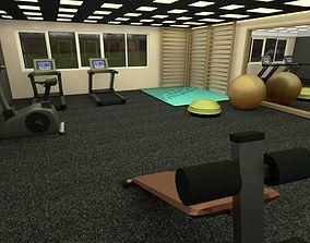 3D gym equipment ketlbell