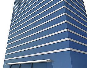 3D asset Tall Building 121