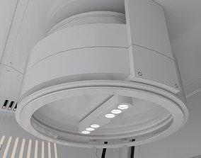 3D scifi corridor design