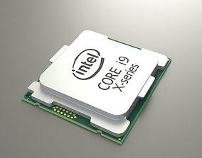 CPU Intel i9 3D model
