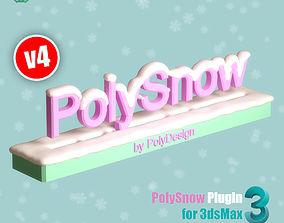 scripts-plugins PolySnow V4 for 3dsmax