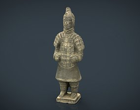 Terracotta Warriors Soldier Type 2 3D asset