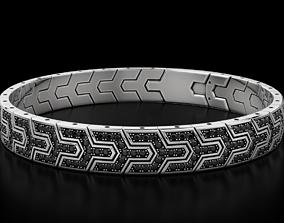 Handsome stylish bracelet for men 569 3D print model