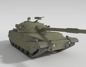 ABT-120 - Realistic Cold War Era MBT 3D model