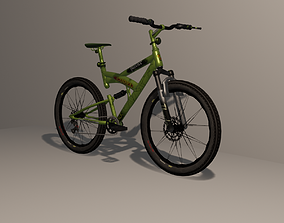 Mountain Bike 3 3D asset game-ready