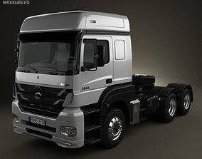 3D model Mercedes-Benz Axor Tractor Truck 2011