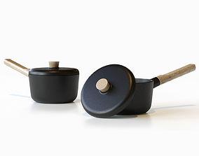 EVA SOLO Nordic Kitchen Sauce Pan 3D