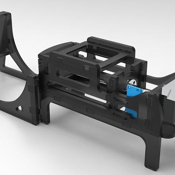 Emergency Ventilator For COVID 19 - Breathing Respirator 3D print model