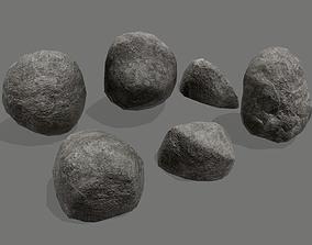 3D model Small Rocks