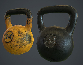 3D asset Kettlebell PBR Game Ready