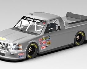 3D model 2014 camping world chevy