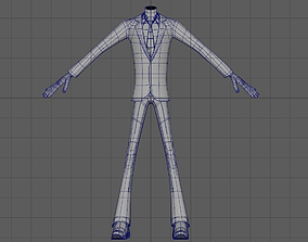Male Character 3D asset