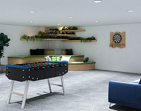 full interior basement 3D