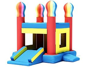 3D model Inflatable Bounce House
