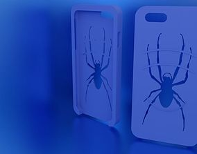Iphone 6s Spider Case for Flexible TPU 3D print model 1