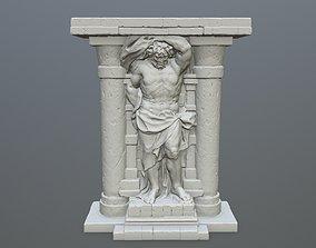 3D print model statue 2