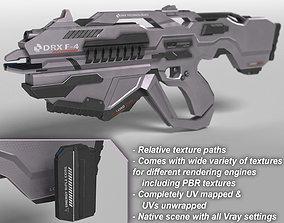 3D model Sci Fi Plasma Rifle DRX F4