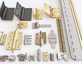 3D model Door hinge vol 04