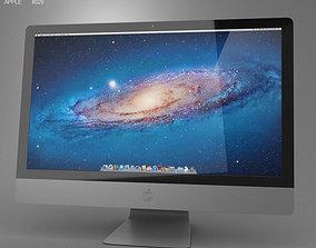 3D model Apple iMac 27 2013