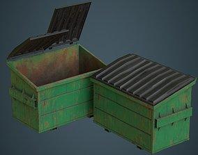 3D asset realtime Dumpster 2C