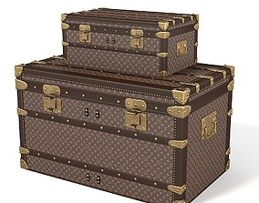 3D model Louis Vuitton Trunks various-models
