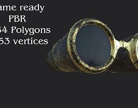 Ancient binocular 3D asset