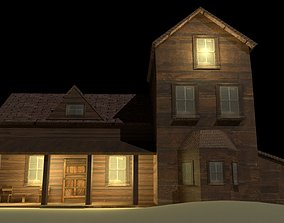 3D model Medieval Simple House
