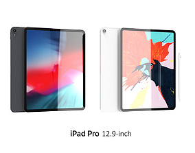 3D iPad Pro 12 9-inch Collection