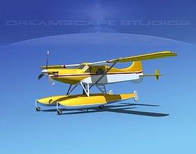 DeHavilland DHC-2 Turbo Beaver V19 3D