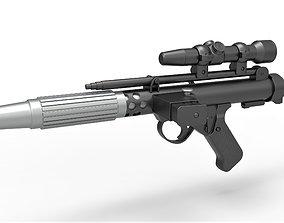3D Rebel Fleet Trooper Blaster pistol DH-17 from Star Wars