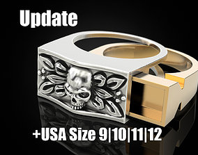 3D printable model Secret Compartment ring