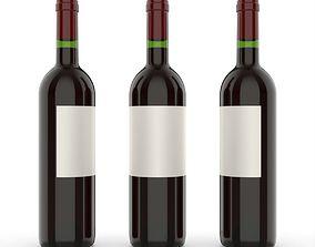3D keyshot Wine bottle