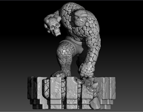 Fantastic 4 the thing Davide Barba from 3D printable model