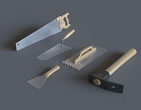 Hand Tools 1 3D model