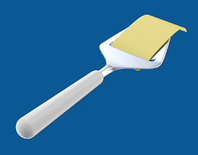 3D model Cheese slicer with cheese slice
