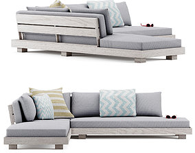 LUBEK sofa 3D asset