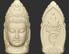 Kwanyin Head2 3D print model
