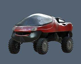 3D asset realtime Renault Racoon Concept Car 1992