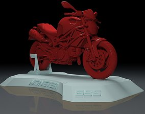 DUCATI MONSTER 696 MOTORCYCLE FOR 3D PRINTING