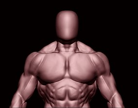 bodybuilder 3D asset VR / AR ready