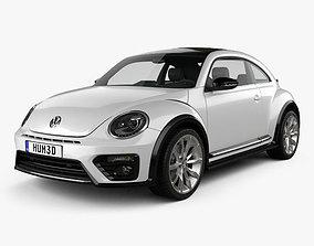 Volkswagen Beetle R-Line coupe 2016 3D model