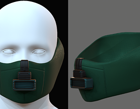 low-poly Gas mask 5