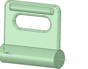 Nylon Internal Flat Slide and Slug ABA-258-01 3d-print