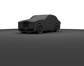 Rolls-Royce Luxury car 3D asset
