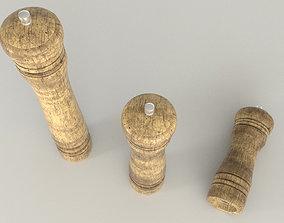 Mill Pepper 3D model