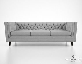 3D model Stuart Scott The Tux Lux Sofa